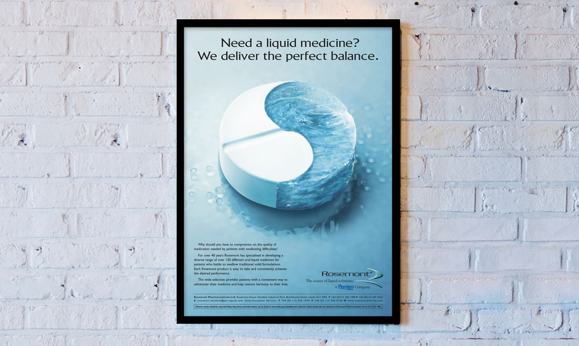 Rainmaker Advertising - Rosemont - Ying Yang Pill Poster