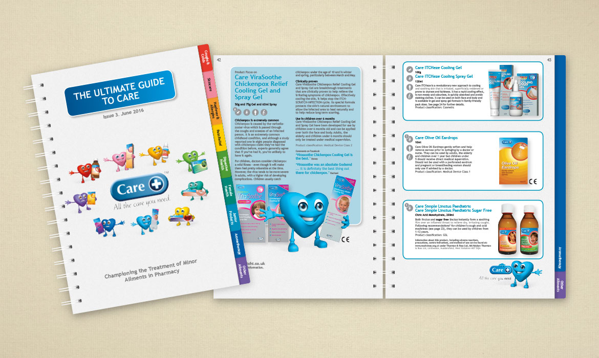 Rainmaker Design - Care Medicines - Range Brochure