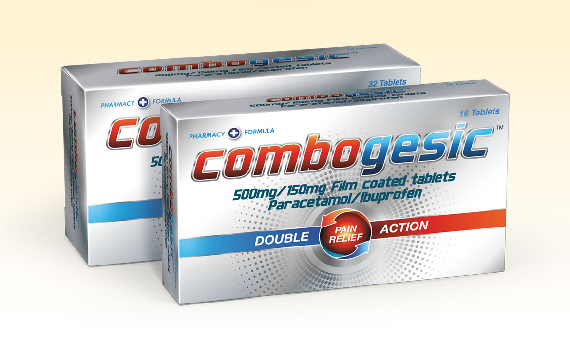 Rainmaker Packaging - Care Medicines Combogesic Packaging